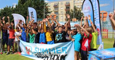 Escale à Cernay pour le Summer City Tour du District d'Alsace de Football